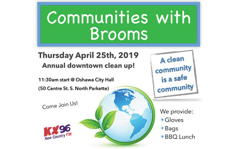 Communities With Brooms