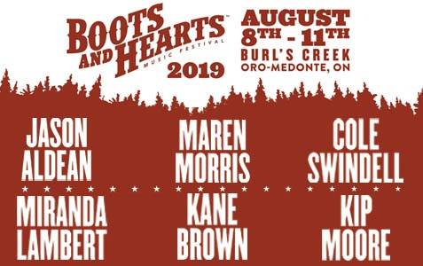 Boots & Hearts 2019